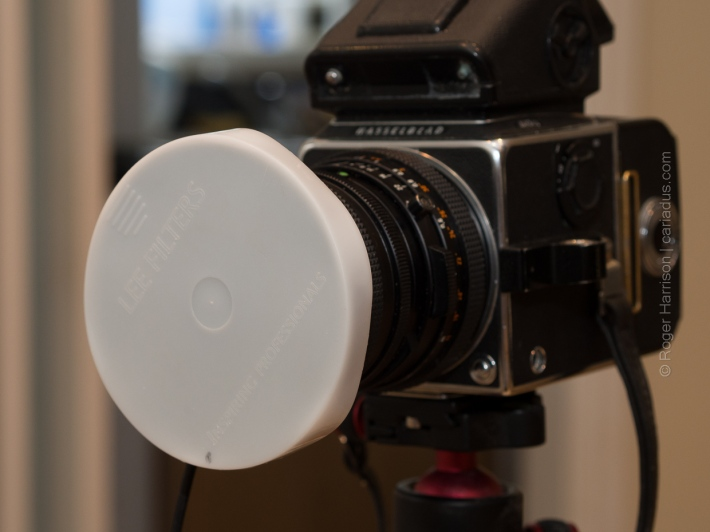 Plastic Lee cap for the filter adapter fitted on to lens hood