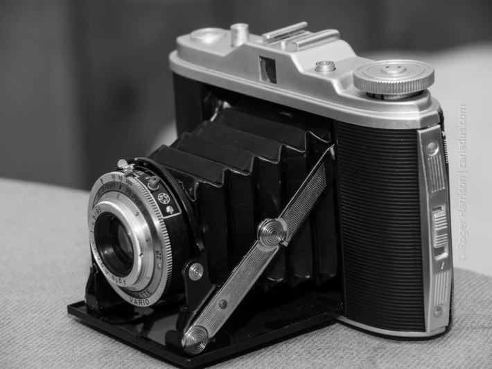 Agfa Isolette, 1950s German folder